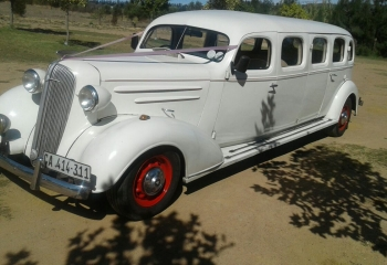 1936 Chevrolet Limousine (red trim)