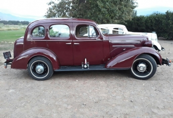 1936 Chevrolet Sedan (maroon)